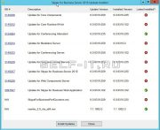Окно обновлений Skype for Business